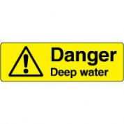 Warn135 - Danger Deep Water